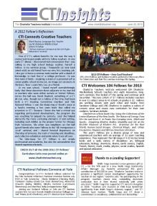 CTI Insights_June 2013
