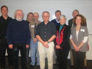 2015 CTI Seminar Leaders are looking forward to the year ahead in CTI. Pictured (left to right) are: Mark Pizzato, Rick Gay, Barbara Lom, Chris Paradise, Malcolm Campbell, Ron Lunsford, Shelley Rigger, Harold Reiter and Beth Whitaker.