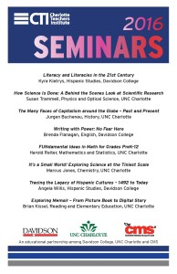 Seminars poster 2016